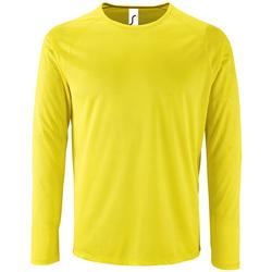 Vêtements Homme T-shirts manches longues Sols SPORT LSL MEN Amarillo