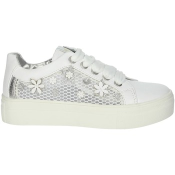 Chaussures Fille Baskets basses Asso AG-5307 Blanc
