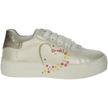 Chaussures Fille Baskets basses Asso AG-5301 Ivoire