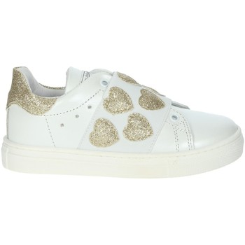 Chaussures Fille Baskets basses Balducci BUTTER1572 Blanc/Or