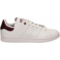 Chaussures Femme Baskets basses adidas Originals STAN SMITH W bianco-bordeaux