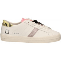 Chaussures Femme Baskets basses Date HILL LOW CALF PYTHON bianco-giallo