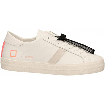 Chaussures Femme Baskets basses Date HILL LOW FLUO bianco-corallo