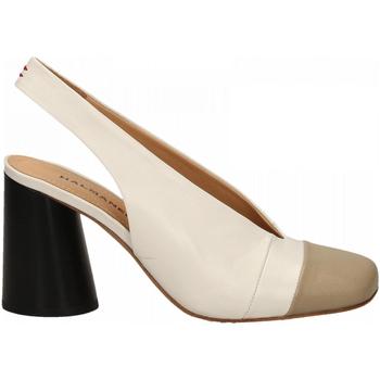 Chaussures Femme Escarpins Halmanera ORIETT BABY KID stone