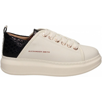 Chaussures Femme Baskets basses Alexander Smith WEMBLEY white-black
