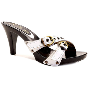 Chaussures Femme Mules Kiara Shoes K6530 Blanc