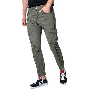 Vêtements Homme Pantalons cargo Displaj EVOLUTION MOLLA vert