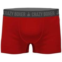 Sous-vêtements Homme Boxers Crazy Boxer BCBASS1 rouge