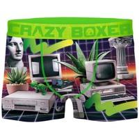 Sous-vêtements Homme Boxers Crazy Boxer RETR vert