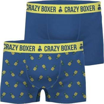 Sous-vêtements Homme Boxers Crazy Boxer ANAS bleu