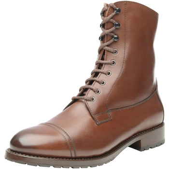 Chaussures Femme Boots Shoepassion Boots d'hiver N° 275 Dunkelbraun