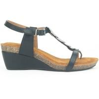 Chaussures Femme Sandales et Nu-pieds Chattawak Petit Talon 9-MILA Noir Noir