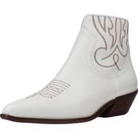 Chaussures Femme Bottines Alpe 4585 05 Blanc