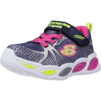 Chaussures Fille Baskets basses Skechers SHIMMER BEAMS-SPORTY GLOW Bleu