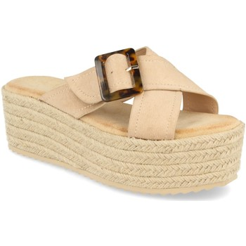 Chaussures Femme Espadrilles Buonarotti 1CF-0112 Beige