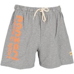 Vêtements Homme Shorts / Bermudas Panzeri Uni a grc fl org short Gris chiné