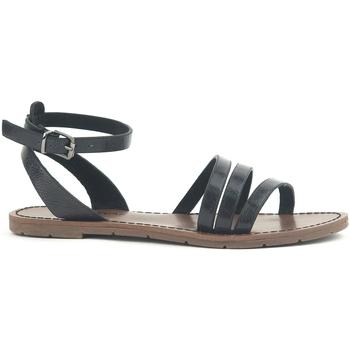 Chaussures Femme Sandales et Nu-pieds Chattawak Sandale  9-PAGO Noir Noir