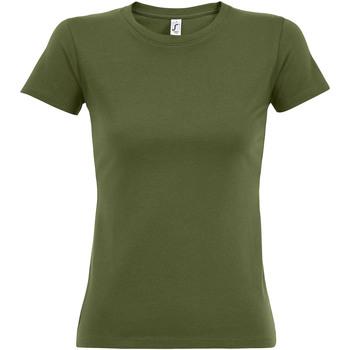 Vêtements Femme T-shirts manches courtes Sols Imperial Vert kaki foncé