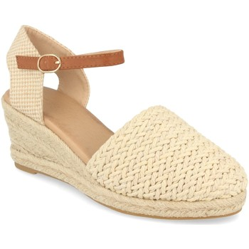 Chaussures Femme Espadrilles Buonarotti 1N-0016 Beige