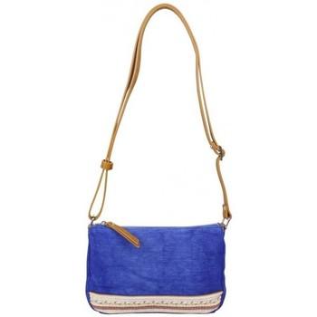 Sacs Femme Sacs Bandoulière Fuchsia Petit sac bandoulière  Milli bande toile délavée bleu Multicolor