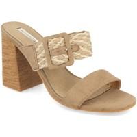 Chaussures Femme Sandales et Nu-pieds Buonarotti 1KA-0065 Kaki