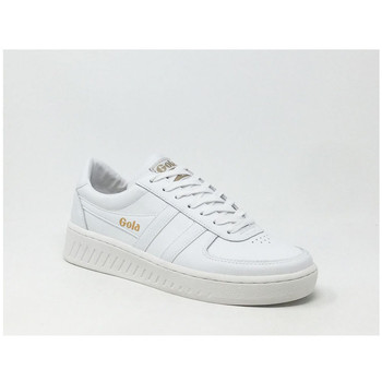 Chaussures Homme Baskets basses Gola GRANDSLAM LEATHER BLANC Blanc
