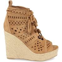 Chaussures Femme Espadrilles Buonarotti 1A-0005 Camel