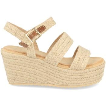 Chaussures Femme Espadrilles Buonarotti 1CF-0117 Beige