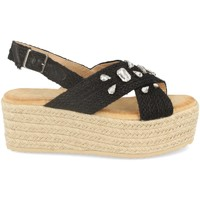 Chaussures Femme Espadrilles Buonarotti 1CF-0118 Negro
