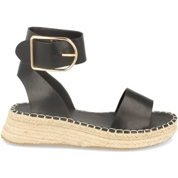 Chaussures Femme Espadrilles Buonarotti 1EC-0138 Negro