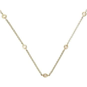 Montres & Bijoux Femme Coton Du Monde Mes-Bijoux.fr Collier Or Jaune et Diamants 0,22 carat