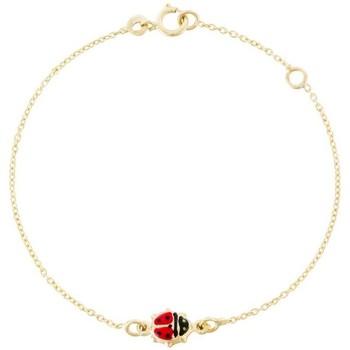 Montres & Bijoux Enfant Bracelets Mes-Bijoux.fr Bracelet or jaune enfant