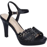 Chaussures Femme Sandales et Nu-pieds Ikaros BN477 Noir