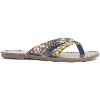Chaussures Femme Sandales et Nu-pieds Chattawak Tong 9-KALINDA Bleu Bleu