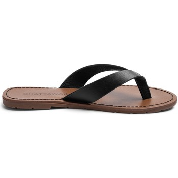 Chaussures Femme Tongs Chattawak Sandale  9-TANGO Noir Noir