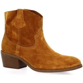 Bottines Exit Boots cuir velours - Exit - Modalova