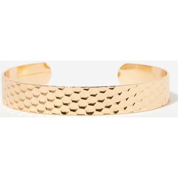 Montres & Bijoux Bracelets Mes-Bijoux.fr Jonc Bohème doré Doré