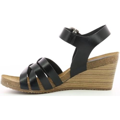 775710  Kickers  sandales et nu-pieds  femme  noir