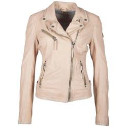 Vêtements Femme Vestes en cuir / synthétiques Gipsy PGG S20 LABAGV PALE ROSE Rose