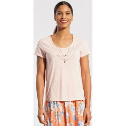 Vêtements Femme T-shirts manches courtes Kaporal BEWEL ORCHID Orange