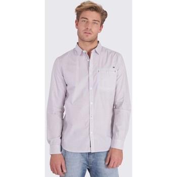 Vêtements Homme Chemises manches longues Kaporal CATY WHITE Blanc