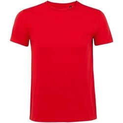 Vêtements Homme T-shirts manches courtes Sols Milo Rouge