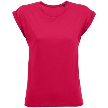 Vêtements Femme T-shirts manches courtes Sols Melba Rose foncé