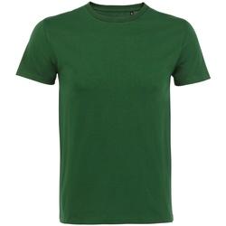 Vêtements Homme T-shirts manches courtes Sols Milo Vert bouteille