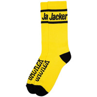 Accessoires textile Homme Chaussettes Jacker Holy molley socks Jaune