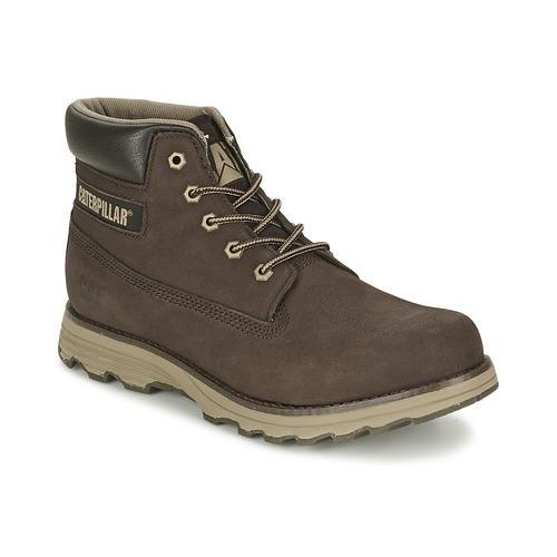 Chaussures Homme Boots Caterpillar FOUNDER Espresso