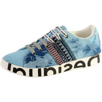 Chaussures Femme Baskets basses Desigual Basket Comic New Exotic Dark Blue