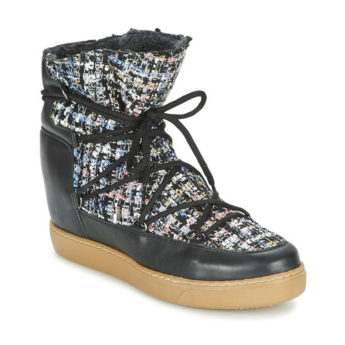 Chaussures Femme Boots Meline DERNA Noir