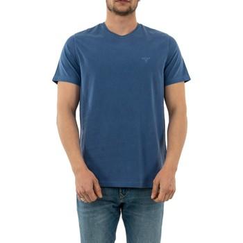 Vêtements Homme T-shirts manches courtes Barbour mml0860 bl97 marine blue bleu