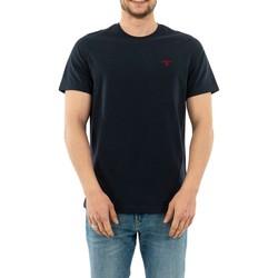 Vêtements Homme T-shirts manches courtes Barbour mts0331 ny91 navy bleu